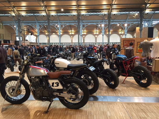 The Bike Shed Show from Paris earlier this year