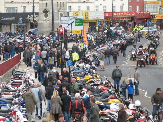 Margate goes into meltdown as thousands descend on the seaside town