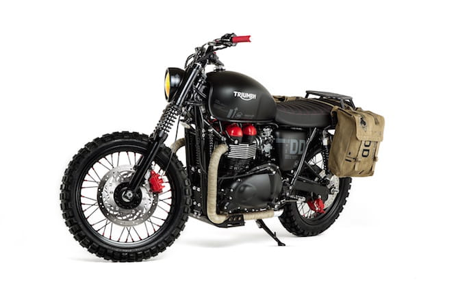 The new Triumph Bonneville
