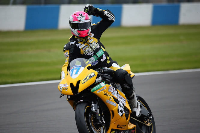Ryde took a podium in his World Supersport debut