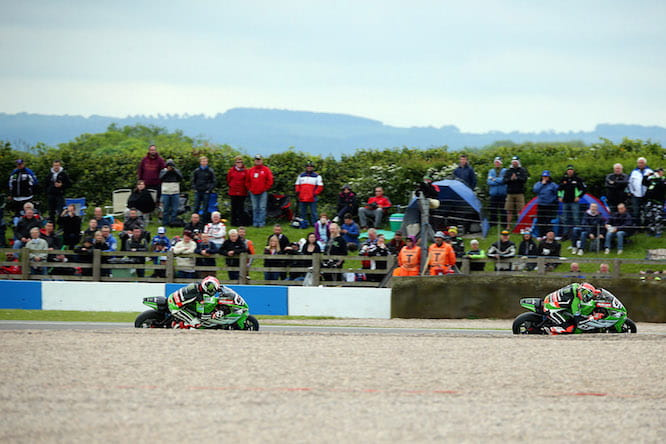 Sykes dominated race two