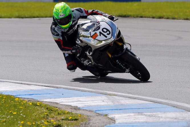 Cam Donald on the Norton SG4