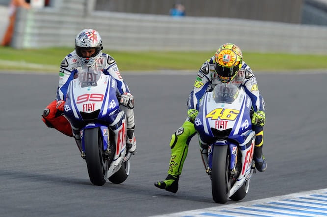 There was also an intense battle in Motegi