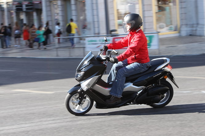 We ride the £2,599 Yamaha NMAX in Lisbon