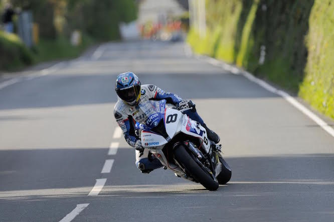 Guy Martin on his Tyco BMW Superbike