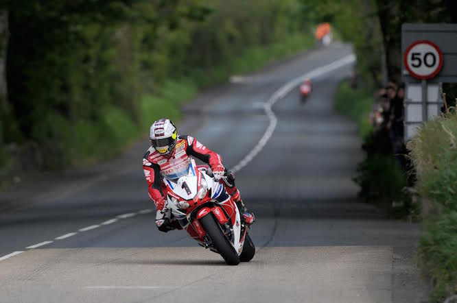 The TT Superbike race has been postponed