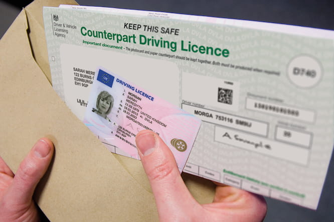 Paper driving licences are being scrapped