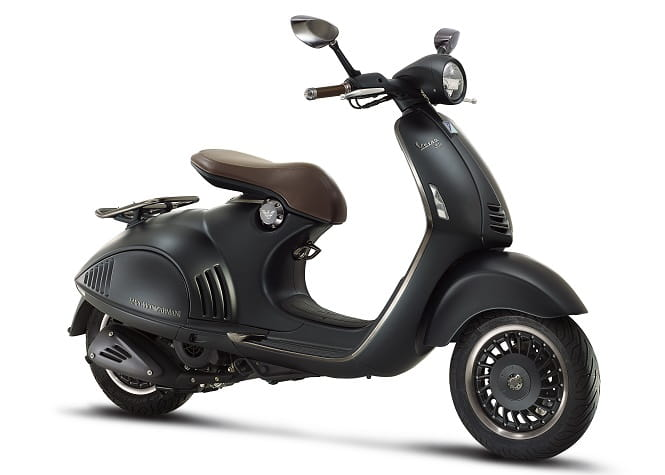 The Emporio Armani Vespa 946 will be a limited run