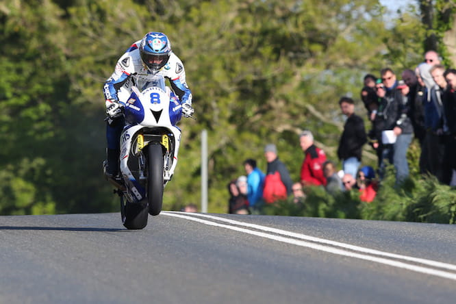 Guy Martin took his first podium of the week