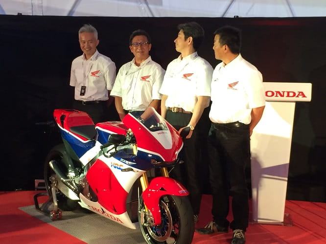 Honda's proud project team