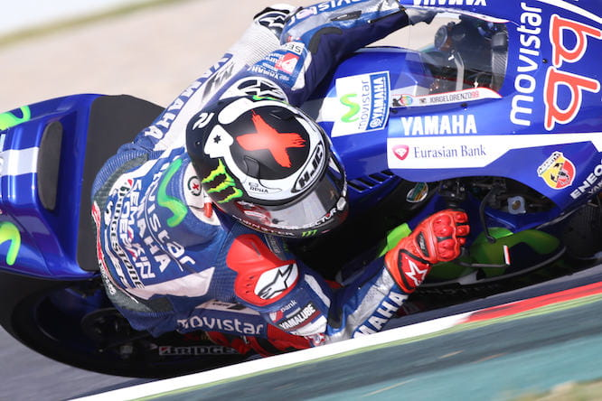 Four in a row for Jorge Lorenzo