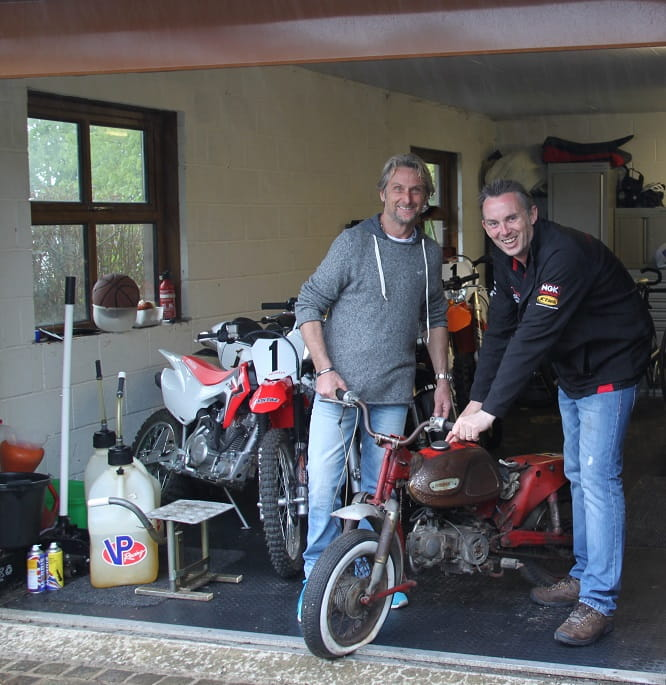 Carl Fogarty, C50 and James Hewing