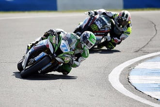 James Ellison leads Byrne at Donington and for the title