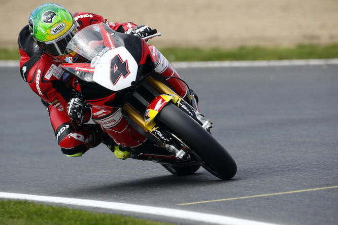 Linfoot says he's ready to get back out at Snetterton this weekend