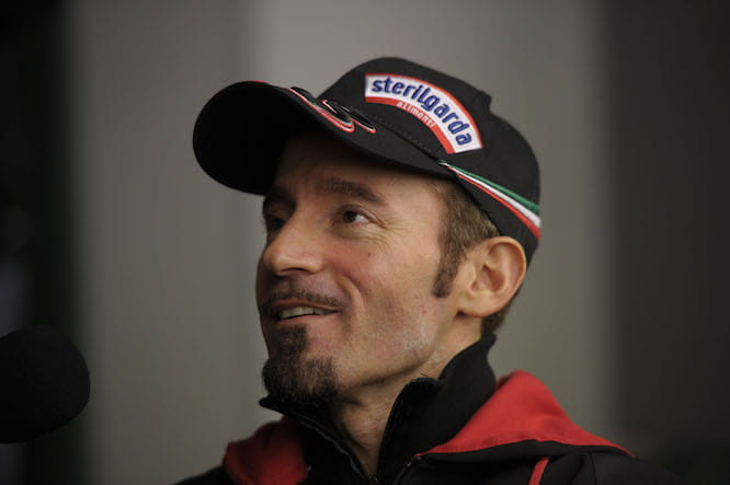 Biaggi could mix it at the front this weekend