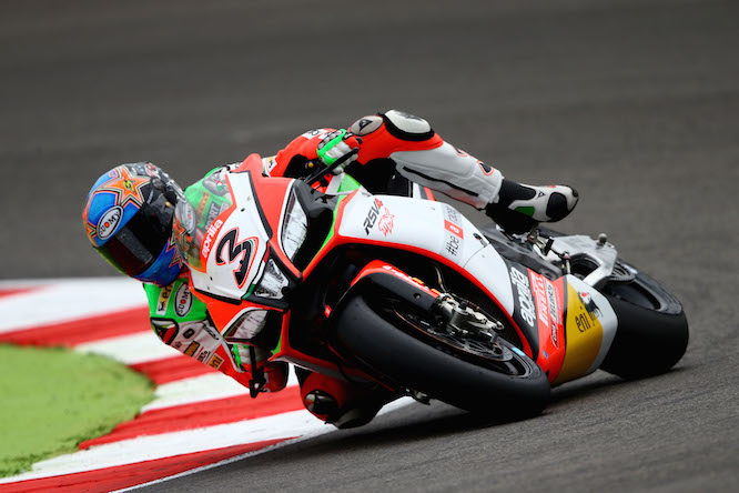 Biaggi topped the first session