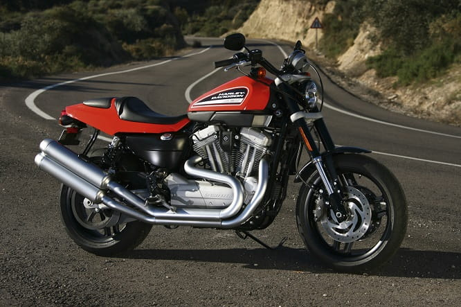 A future classic? The sportiest of all Harley's