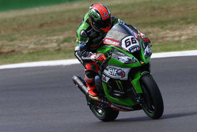 Sykes took pole in Misano