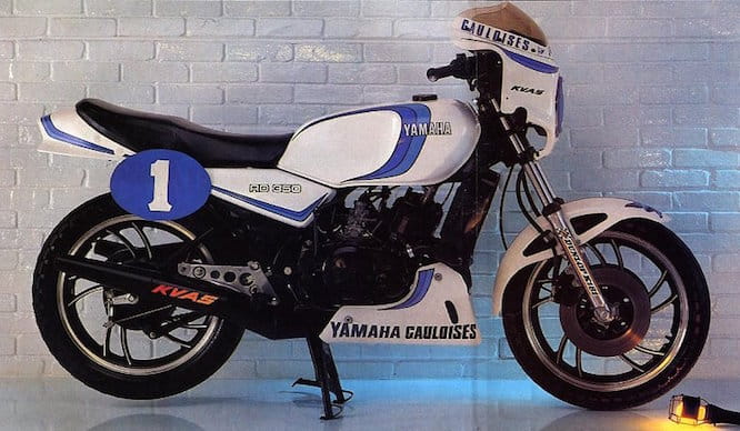The old RD350LCs