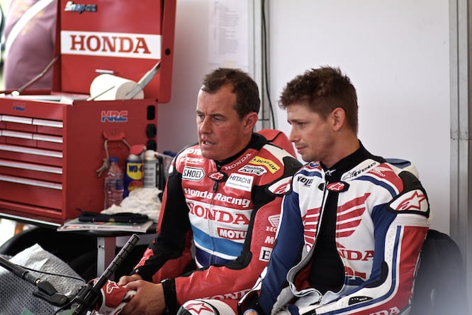 McGuinness comparing notes with Stoner