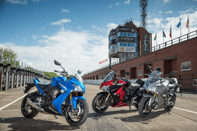 The GSX-S1000F launch is being held on the Isle of Man