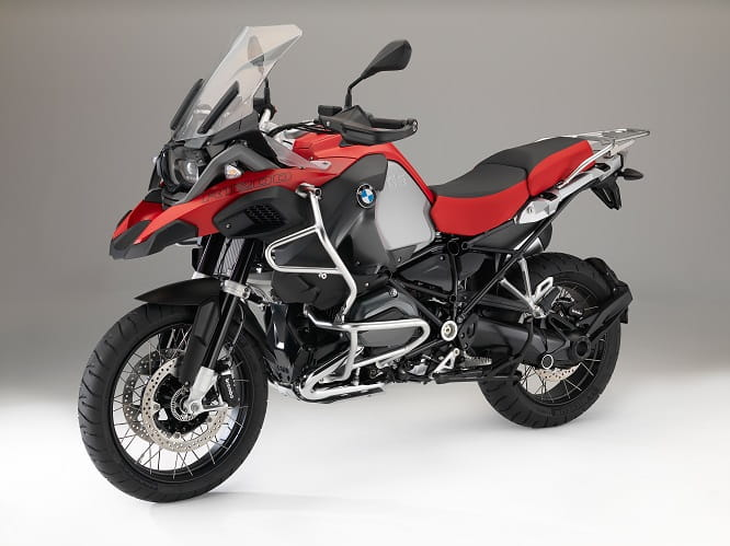 R1200 GS Adventure in Racing red non-metallic