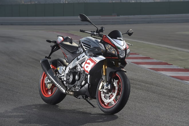Try Aprilia's 2015 Tuono V4 1100 Factory out for size