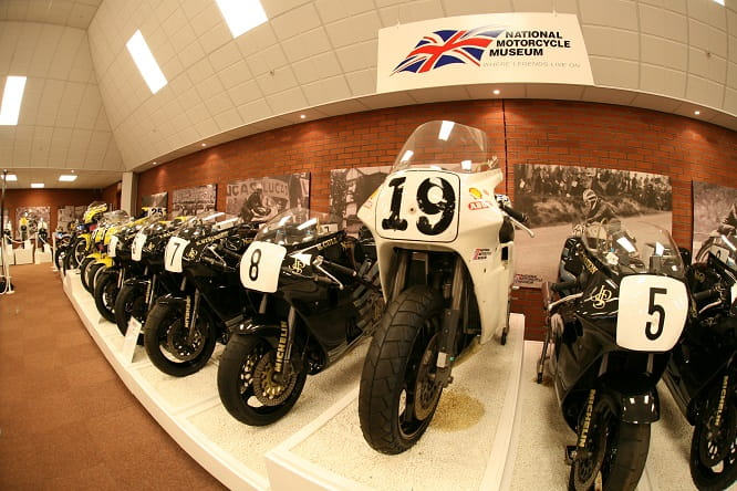 Norton's a-plenty at the NMM