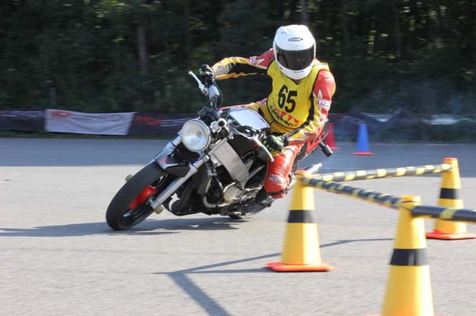 MotoGymkhana is the test of speed and agility