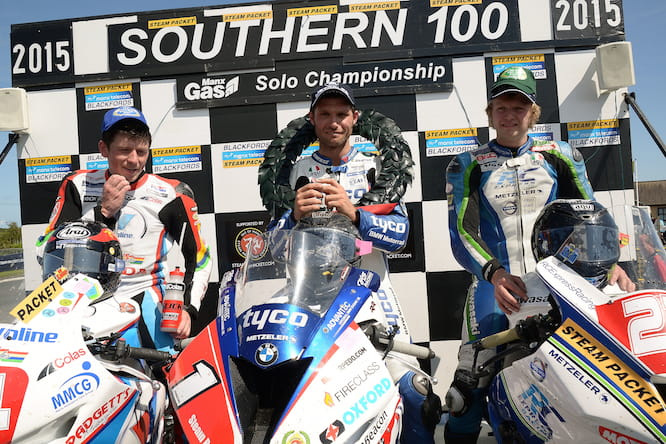 Martin stormed to his third consecutive S100 championship