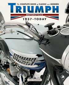 Front cover; The Complete Book of Classic and Modern Triumph Motorcycles 1937-Today