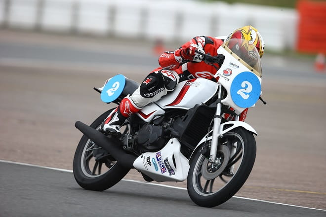 Bike Social's Marc Potter dreams of joining the ProAm race at the GP. Keep dreaming old son.