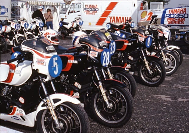 Back in the day - the ProAm 350s.