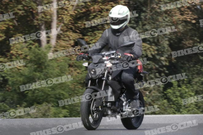 BMW 300cc prototype in testing