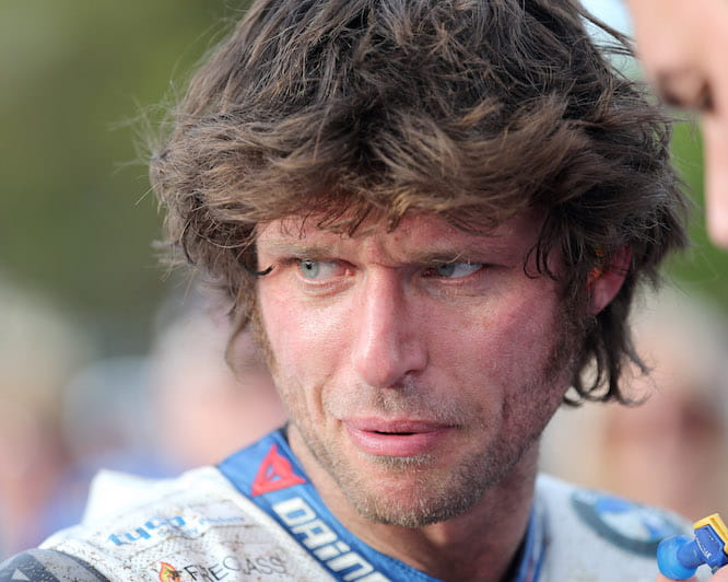 The bad weather won't stop Guy Martin