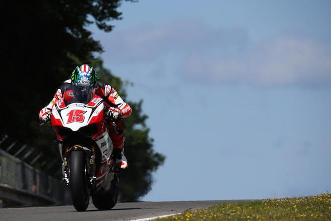 Hopper looking stylish on the Panigale