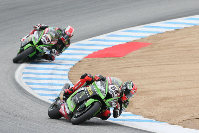 Sykes got the better of Rea in both races