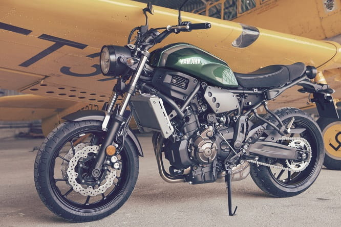 Yamaha officially unveil XSR700