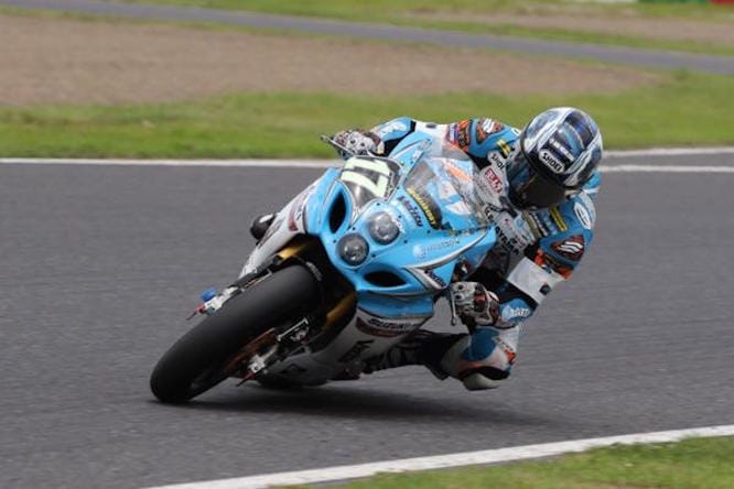 Kiyonari lines up with Team Kagayama