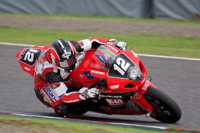 Waters has found pace in Suzuka