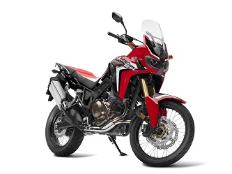 One of the four available colour schemes: CRF Rally