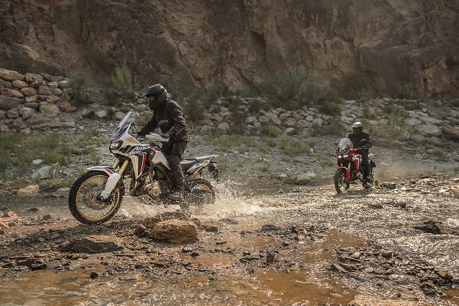 Off-road appeals to the new Africa Twin