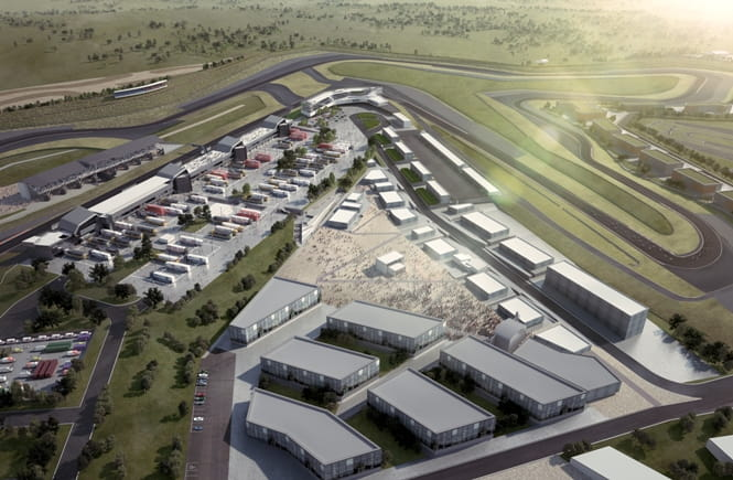 Artists Impression of the stunning Circuit of Wales