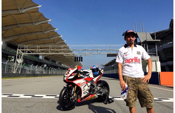 Biaggi will return to track again at Misano