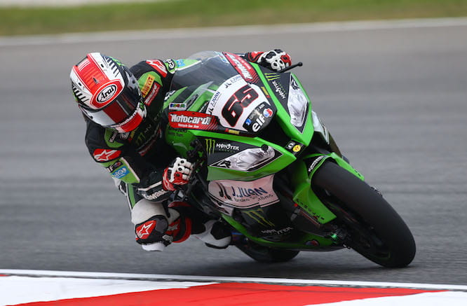 Jonathan Rea could win the title this weekend