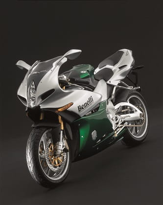 Designed by Adrian Morton, also responsible for Ducati's 916