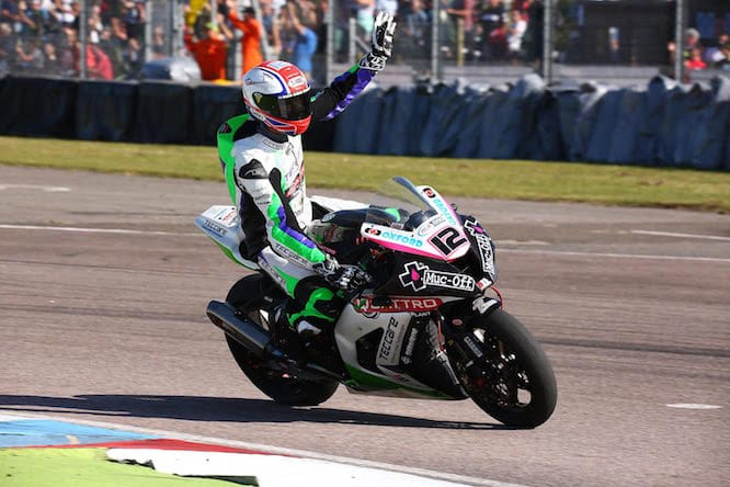 Mossey bagged his first ever BSB podium in race two