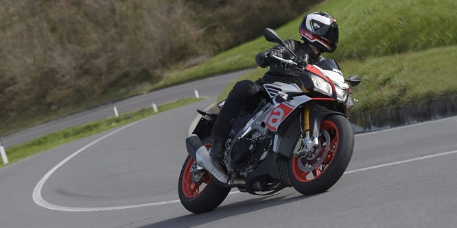 Aprilia Tuono V4 1100 Factory is among the 10 bikes you can try