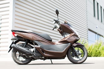 PCX's 8 litre tank is 1.4 larger than than the Yamaha