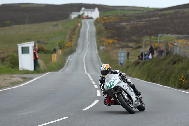 Norton ran a 650 at the Isle of Man TT this year with MCN's Adam Child on-board.